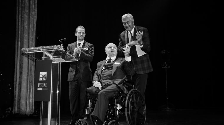Seth Campbell, Dr. Bobby Campbell and Joe Ouaknine, 2017 Two Ten Annual Gala