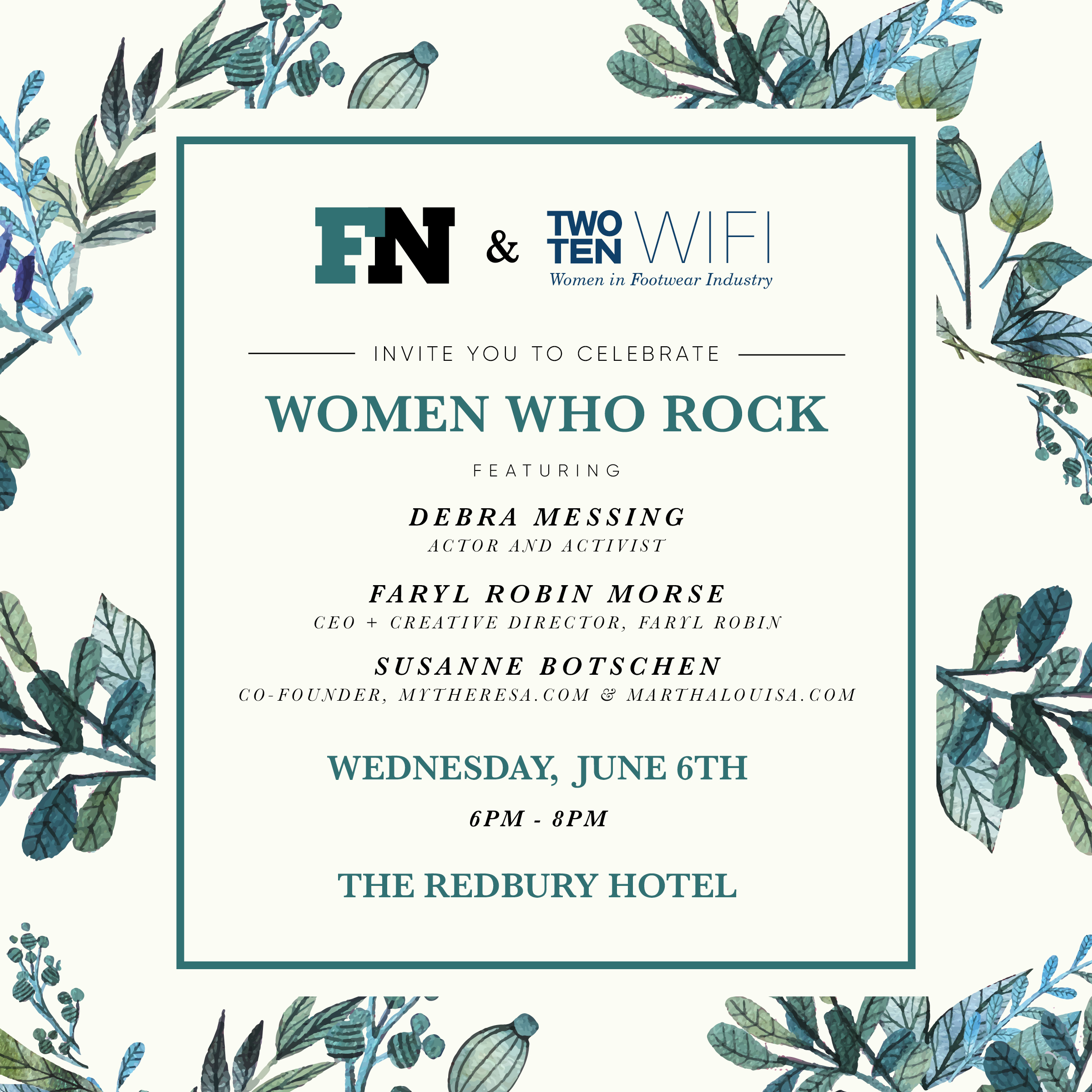 Two Ten WIFI and Footwear News Event, June 2018 @ The Redbury Hotel