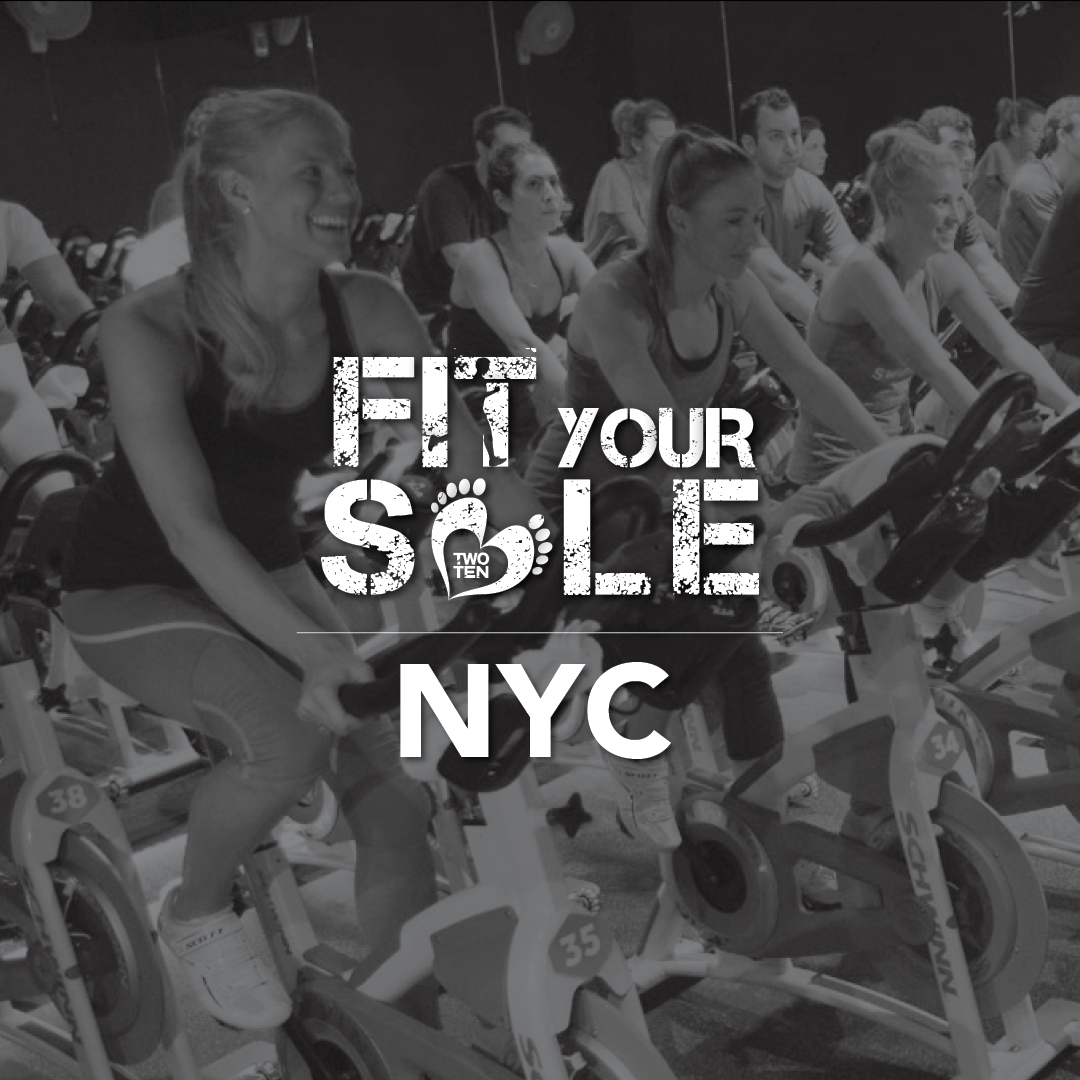 2018 Fit Your Sole - NYC Swerve Midtown, 9/14, 4:30pm @ Swerve Midtown