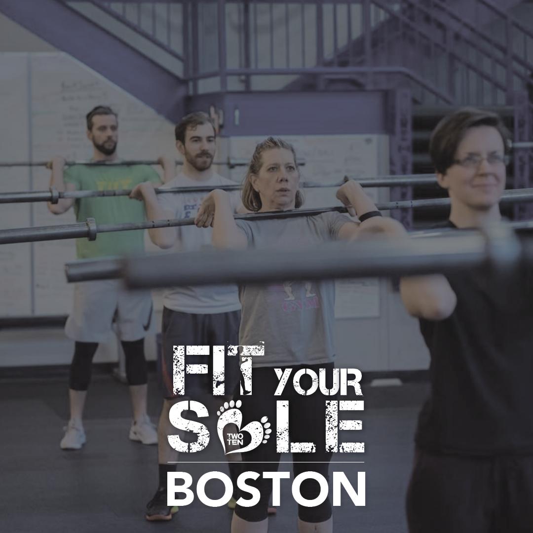 2018 Fit Your Sole - Boston, 9/15, 12:00pm @ Crossfit Tilt
