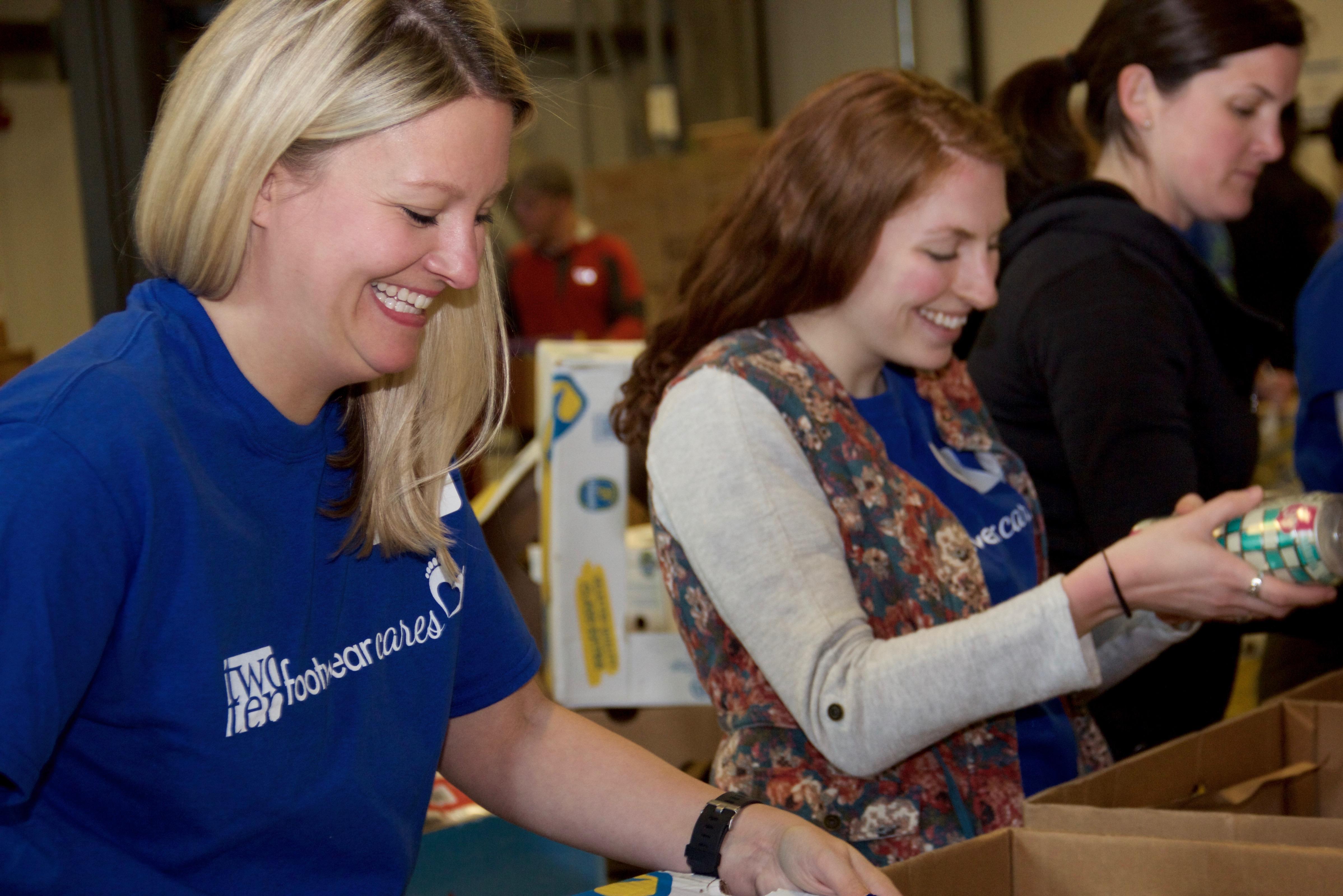 Boston Footwear Cares - Greater Boston Food Bank