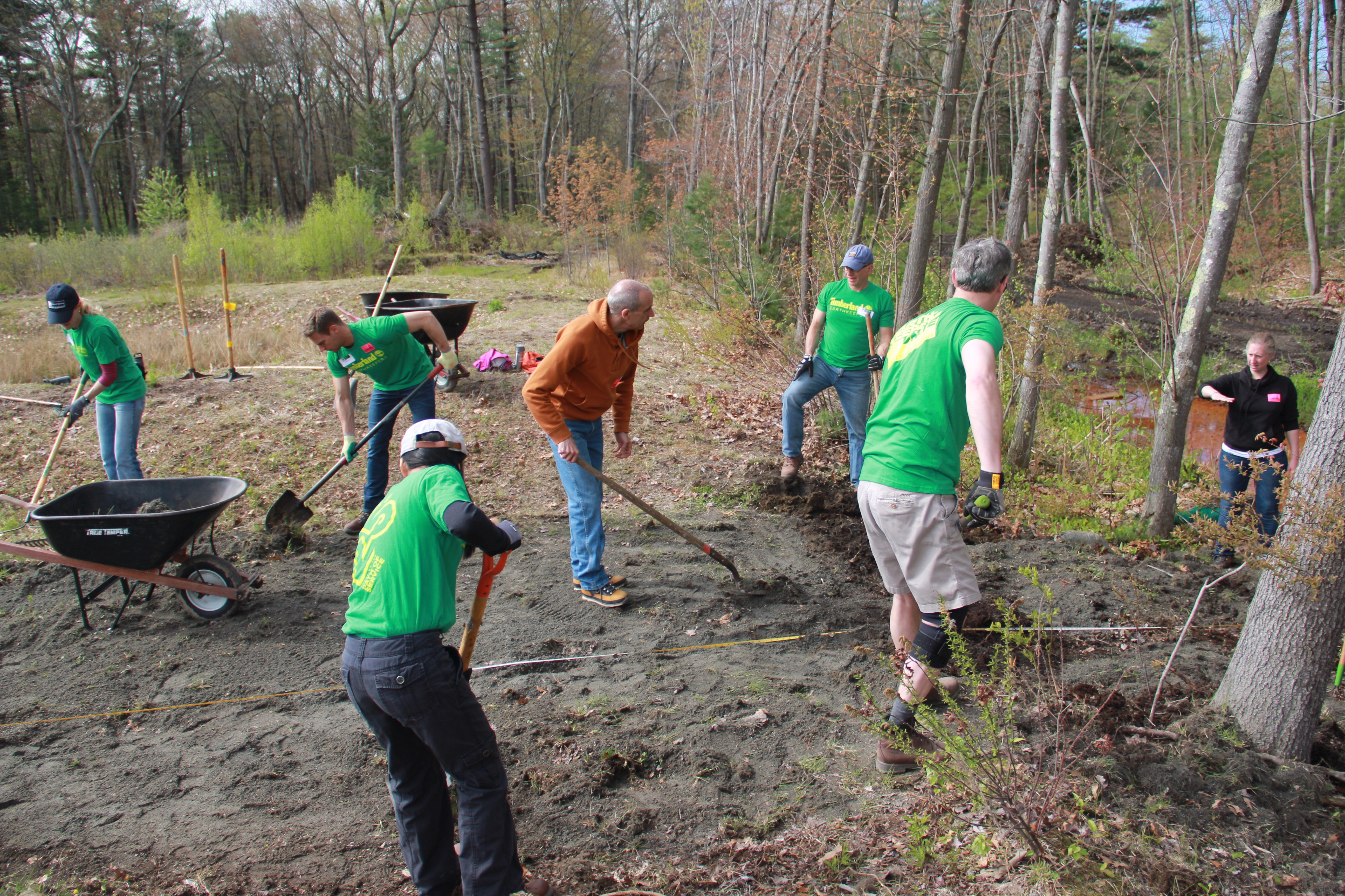 Timberland Earth Day 2019 with Footwear Cares