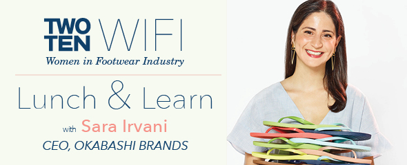 WIFI Lunch & Learn: Sara Irvani @ WebEx