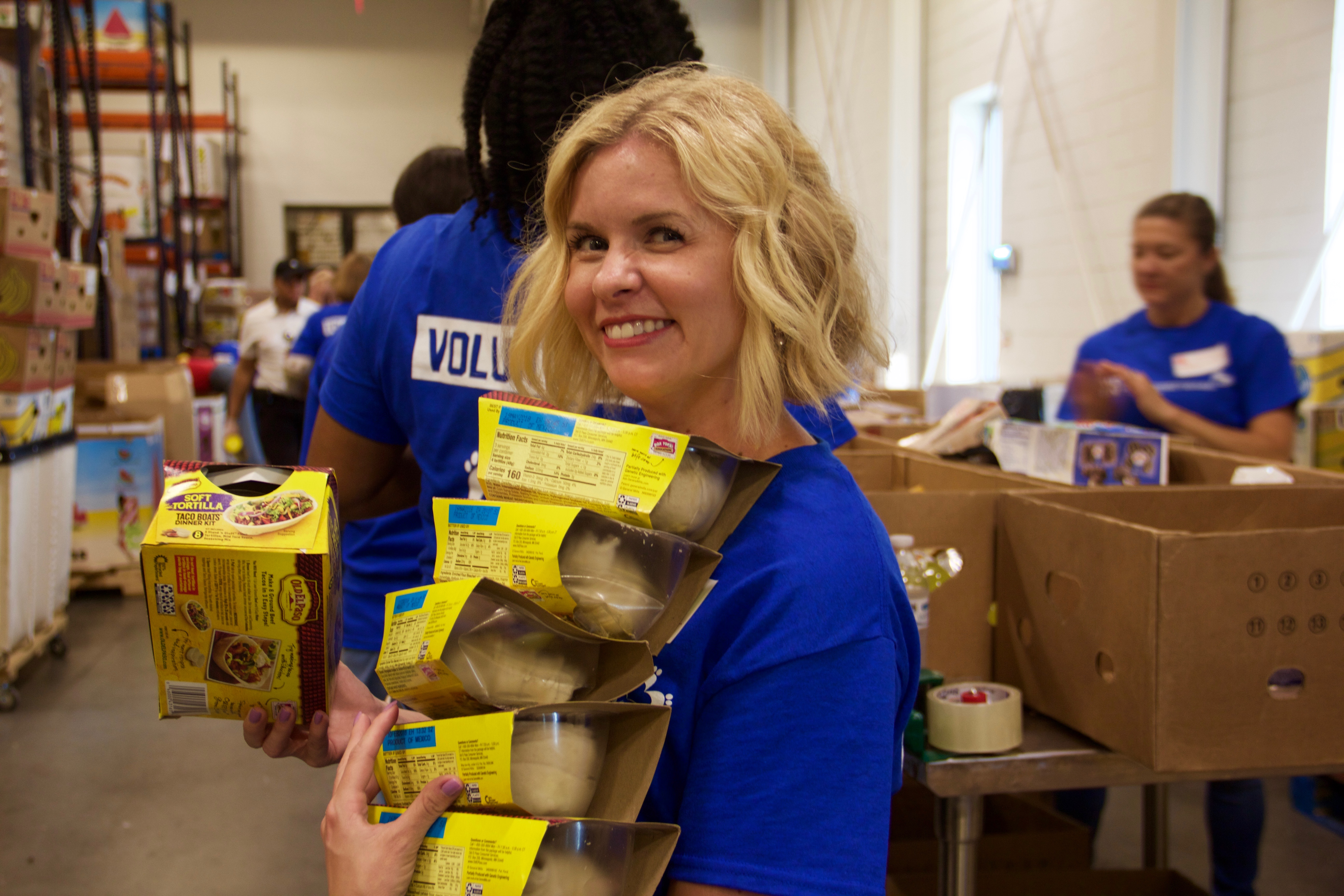 Two Ten Footwear Cares at the Second Harvest Food Bank