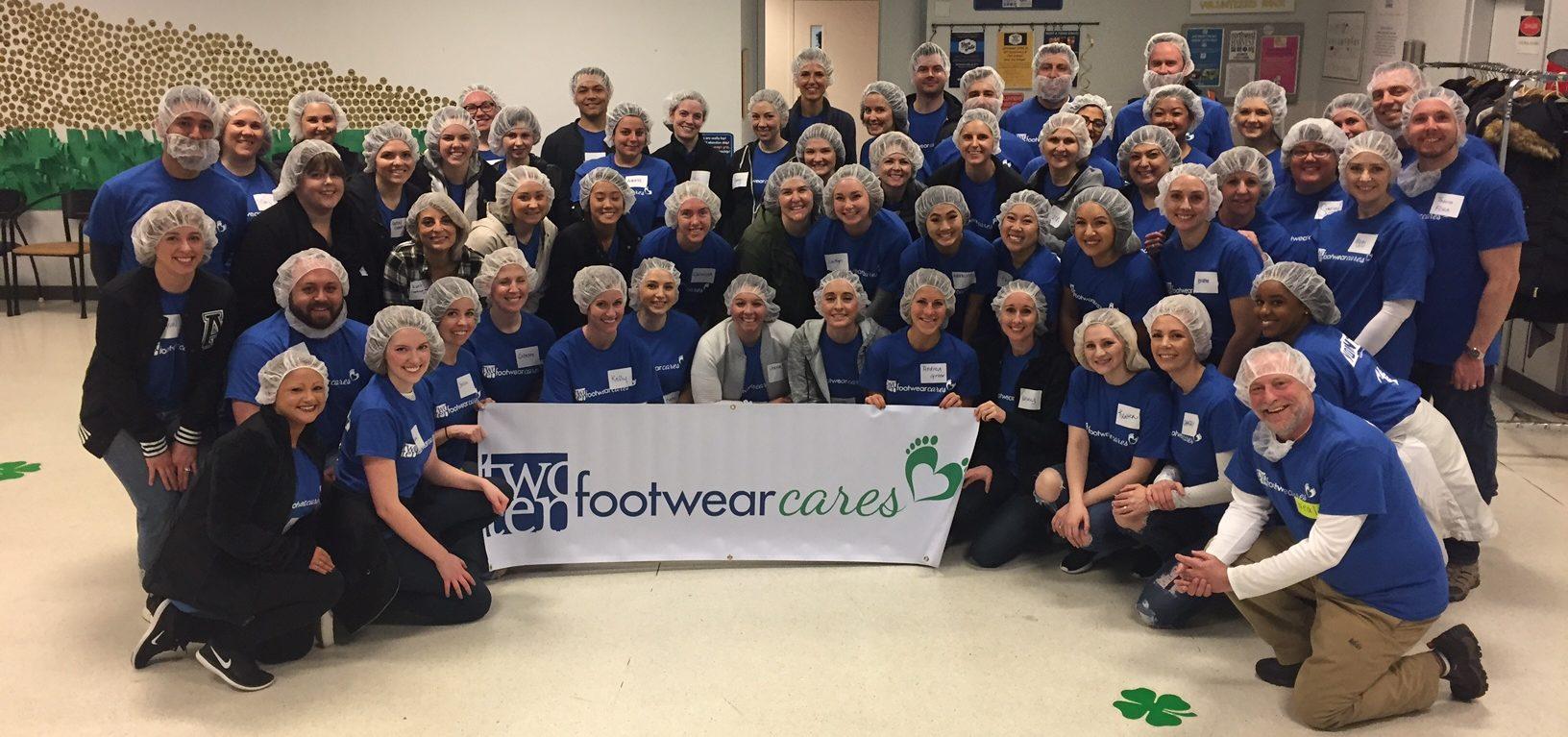 Seattle Footwear Cares - Nortwest Harvest Food Bank